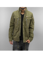 Schott NYC Lightweight Jacket Field Squad khaki