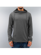 Selected Pullover London High Neck gris