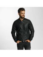 SHINE Original Leather Jacket Shane black