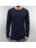 SHINE Original Pullover o Neck blue