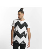 SHINE Original T-Shirt Original Zig Zag white