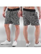 Kort Shorts Black Melange...