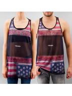 Sinstar Tank Tops USA Flag Basketball red