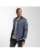 Sixth June Bomber jacket Satin blue