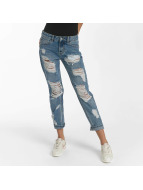 Sixth June Boyfriend Jeans Mummy Destroyed blue