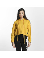 Sixth June Hoodie Cropped Sweat yellow