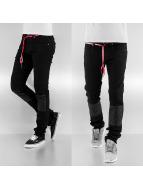 Sixth June Loose Fit Jeans schwarz