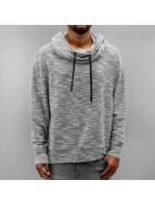 Sixth June Pullover Oversize Sweat With Big Collar gray