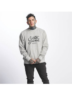 Sixth June Pullover Classic Oversize Logo gray