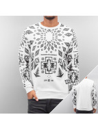 Sixth June Pullover Geomatric white