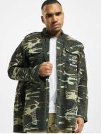 Sixth June Shirt Oversized Overshir camouflage