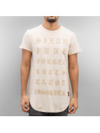 Sixth June T-Shirt Curved Gothic beige
