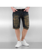 Ripped Jeans Shorts Dark...