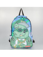 Sprayground Backpack Money Bear green