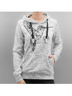 Sublevel Hoodie Kolibri white
