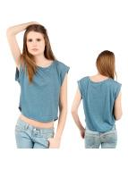 Sublevel t-shirt blauw