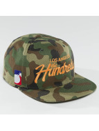 The Hundreds Snapback Cap Team camouflage