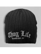 Thug Life Beanie zwart