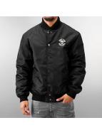 Thug Life College Jacket Small Skull black