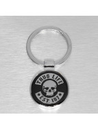Thug Life Key chain silver colored