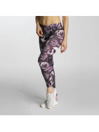 Thug Life Leggings/Treggings Skullpattern pink