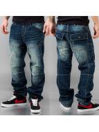 Thug Life Loose Fit Jeans blau