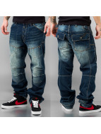 Thug Life Loose fit jeans blauw