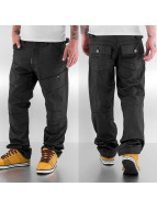 Thug Life Loose Fit Jeans schwarz