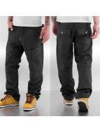 Thug Life Loose fit jeans zwart
