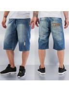 Thug Life Shorts blau