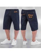 Thug Life shorts blauw