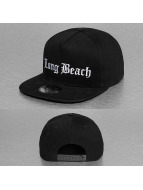 Thug Life Snapback Cap Long Beach black