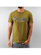 Thug Life t-shirt olijfgroen