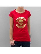Thug Life T-Shirt Skull red