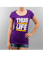Thug Life T-Shirt violet