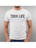 Thug Life T-Shirt Street Boxing white