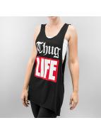 Thug Life Tanktop zwart