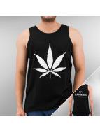 TrueSpin Tank Tops Cannabis No.1 black