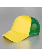 TrueSpin trucker cap geel