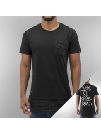 Two Angle t-shirt zwart