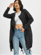Urban Classics Coats Asymetric black