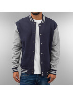 Urban Classics College Jacke blau