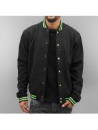Urban Classics College Jacket Contrast black