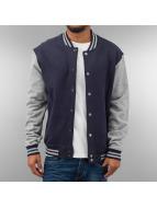 Urban Classics College Jacket blue
