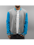 Urban Classics College Jacket 2-Tone gray