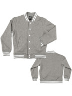 Urban Classics College Jacket Kids gray