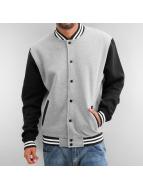 Urban Classics College Jacket grey
