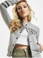 Urban Classics Dance College Jacket grey