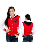 Urban Classics Dance College Jacket red