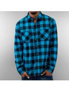Urban Classics Hemd blau